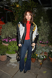 The Ivy Chelsea Garden's Guy Fawkes Party & Launch of The Winter Garden was held on 5th November 2016.<br /> Picture shows:- BETTY BACHZ.