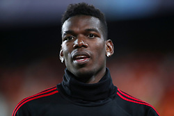 Manchester United's Paul Pogba ahead of the match