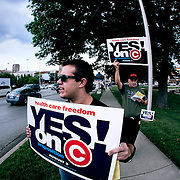 Missouri Proposition Protest and Counter-Protest.