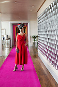 Kelly McGrath, catwalk models in the g Hotel for the launch of The Galway Races 2016 Summer Festival which runs from the 25th of July to the 31st of July in Galway City. Photo: Andrew Downes :