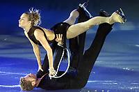 Kunstløp:20.12.2001 Berlin, Deutschland,<br />Das Eistanzpaar Kati Winkler und Rene Lohse auf diesem Archivfoto.<br /><br />Foto: ROBERT MICHAEL/Digitalsport