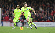 Brighton central midfielder, Dale Stephens (6) during the Sky Bet Championship match between Brentford and Brighton and Hove Albion at Griffin Park, London, England on 26 December 2015.