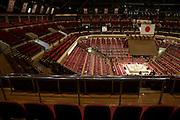 Sumo wrestling event Ryogoky stadium Tokyo beginning