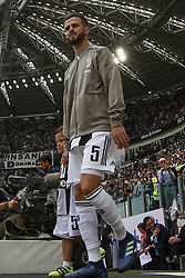 May 19, 2018 - Turin, Italy - Juventus midfielder Miralem Pjanic (5) before the Serie A football match n.38 JUVENTUS - VERONA on 19/05/2018 at the Allianz Stadium in Turin, Italy. (Credit Image: © Matteo Bottanelli/NurPhoto via ZUMA Press)