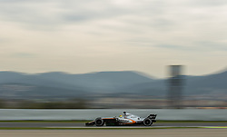 March 10, 2017 - Barcelona, Barcelona, Spain - Sergio Perez - Sahara Force India VJM10 in action during the Formula One winter testing at Circuit de Catalunya on March 10, 2017 in Montmelo, Spain. (Credit Image: © Dpi/NurPhoto via ZUMA Press)