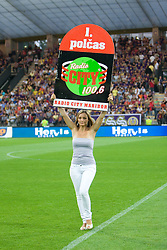 Model at Third Round of Champions League qualifications football match between NK Maribor and FC Zurich,  on August 05, 2009, in Ljudski vrt , Maribor, Slovenia. Zurich won 3:0 and qualified to next Round. (Photo by Vid Ponikvar / Sportida)