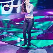 NLD/Hilversum/20151211 - 2e Liveshow The Voice of Holland, TVOH, Neda Boin