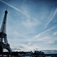 Eiffel Tower From The Seine River