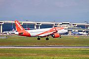 EasyJet Airbus A320-251N (G-UZHU) at Malpensa (MXP / LIMC), Milan, Italy