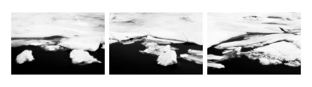 Ice, Delaware River, Pennsylvania