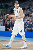 Real Madrid Luka Doncic during Turkish Airlines Euroleague match between Real Madrid and FC Barcelona Lassa at Wizink Center in Madrid, Spain. December 14, 2017. (ALTERPHOTOS/Borja B.Hojas)