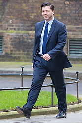 Downing Street, London, April 19th 2016. Work and Pensions Secretary Stephen Crabb arrives at Downing Street for the weekly cabinet meeting.
