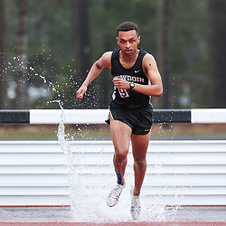 mens 3000 meter Steeplechase, Bowdoin, Maine State Outdoor Track & FIeld Championships