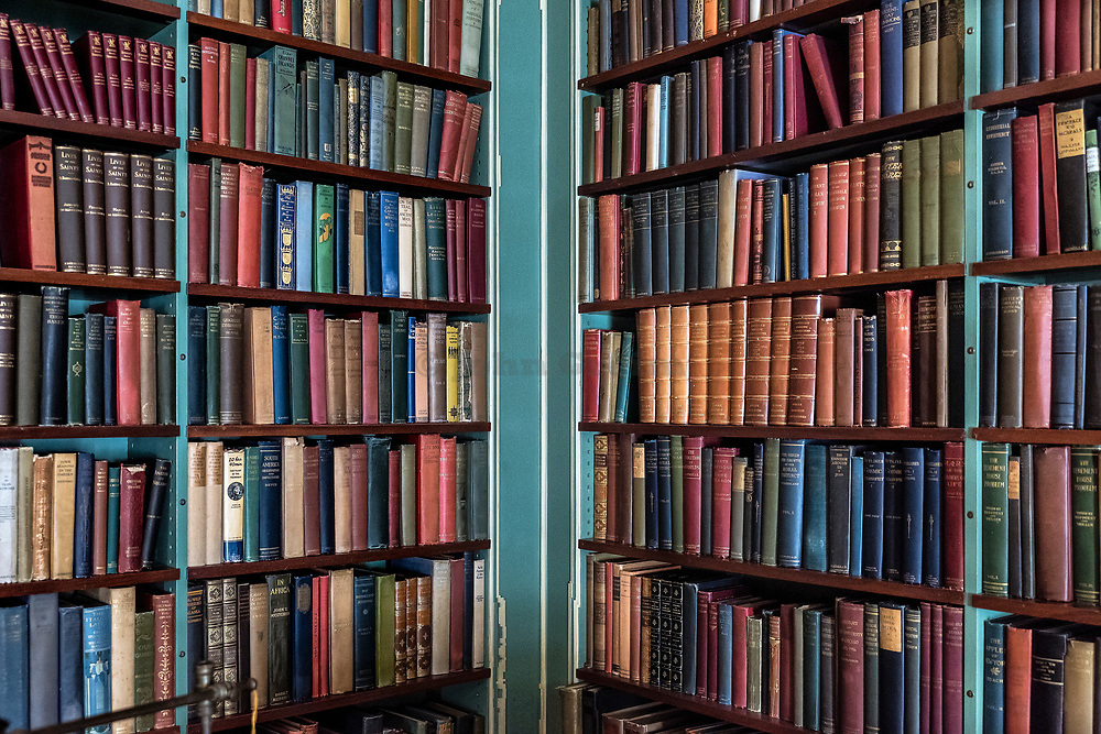 Library of old and rare books.