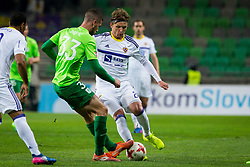 Dare Vršic of NK Maribor during football match between NK Olimpija Ljubljana and NK Maribor in Semifinal of Slovenian Football Cup 2016/17, on April 5, 2017 in SRC Stozice, Ljubljana, Slovenia.  Photo by Ziga Zupan / Sportida