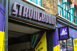 Strongroom a successful Shoreditch recording studio that has produced chart-topping hits from bands ranging from The Prodigy, Radiohead to The Spice Girls, shares a party wall with a site where a former warehouse is set to be altered and extended, the noise from which will create significant problems for the studios and their associated bar and restaurant courtyards. London, March 13 2019.