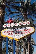 Las Vegas Sign, Downtown Las Vegas, Nevada