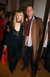 Actor SEAN PERTWEE & the HON.MRS PERTWEE at Garrard's Winter Wonderland party held at their store 24 Albermarle Street, London W1 on 30th November 2006.<br /><br /><br />NON EXCLUSIVE - WORLD RIGHTS