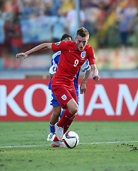 Jamie Vardy of England (Leicester City)  - Mandatory byline: Joe Meredith/JMP - 07966386802 - 05/09/2015 - FOOTBALL- INTERNATIONAL - San Marino Stadium - Serravalle - San Marino v England - UEFA EURO Qualifers Group Stage