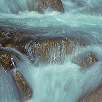 Rapids in Bishop Creek in Inyo National Forest.