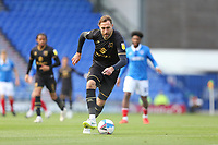 Football - 2020 / 2021 Sky Bet League One - Portsmouth vs. MK Dons<br /> <br /> Richard Keogh of MK Dons in action during the League One fixture at Fratton Park <br /> <br /> COLORSPORT/SHAUN BOGGUST