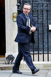 © Licensed to London News Pictures. 24/02/2015. LONDON, UK. Chief Whip Michael Gove attending to a cabinet meeting in Downing Street on Tuesday, 24 February 2015. Photo credit: Tolga Akmen/LNP
