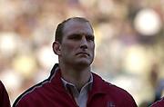 Twickenham, Surrey, 22nd March 2003,  RFU Twickenham Stadium, England, [Mandatory Credit; Peter Spurrier/Intersport Images]<br /> <br /> RBS Six Nations  Rugby England v Scotland<br /> Lawrence Dallaglio
