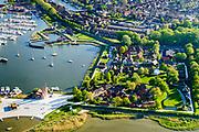 Nederland, Noord-Holland, gemeente Enkhuizen, 07-05-2018; Zuiderzeemuseum, cultuurhistorisch museum over maritieme geschiedenis van de voormalige Zuiderzee. Buitenmuseum met onder andere kalkovens.<br /> Cultural history museum on maritime history of the former Zuiderzee.<br /> <br /> luchtfoto (toeslag op standard tarieven);<br /> aerial photo (additional fee required);<br /> copyright foto/photo Siebe Swart