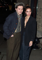 February 18, 2019 - London, United Kingdom - Brooklyn Beckham and Hana Cross at the Naked Heart Foundation's Fabulous Fund Fair at the Roundhouse, Chalk Farm (Credit Image: © Keith Mayhew/SOPA Images via ZUMA Wire)