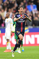 joie de Angel Di Maria (PSG) apres son but