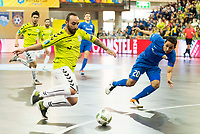 Ugra Yugorsk's Caio and Inter FS's Ricardinho during UEFA Futsal Cup 2015/2016 Final match. April 22,2016. (ALTERPHOTOS/Acero)
