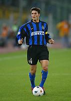 Roma 16 Novembre 2002<br />Roma - Inter 2-2<br />Javier Zanetti