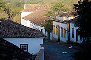 Tiradentes_MG, Brasil.<br /> <br /> Rua Padre Toledo em Tiradentes, Minas Gerais.<br /> <br /> Padre Toledo street in Tiradentes, Minas Gerais.<br />  <br /> Foto: JOAO MARCOS ROSA / NITRO