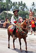 Aloha week parade, Waimea, Kamuela, Island of Hawaii