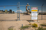Fracking site in San Juan Basin.