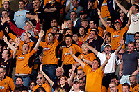 Photo. Jed Wee, Digitalsport<br /> NORWAY ONLY<br /> <br /> Wolverhampton Wanderers v Tottenham Hotspurs, FA Barclaycard Premiership, 15/05/2004.<br /> Wolves fans try to keep their spirits up as they plot a quick return to the Premiership.