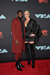 August 26, 2019, New York, New York, United States: P.K. Subban and Lindsey Vonn arriving at the 2019 MTV Video Music Awards at the Prudential Center on August 26, 2019 in Newark, New Jersey  (Credit Image: © Kristin Callahan/Ace Pictures via ZUMA Press)