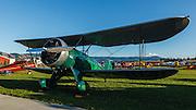 1932 Waco UBA at 2013 Hood River Fly In at WAAAM.