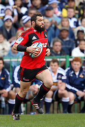 Corey Flynn runs on for his 100th Super Rugby match during the Super 15 Semi Final match between the DHL Stormers and the Crusaders held at Newlands Stadium in Cape Town on the 2nd July 2011..Photo by Ron Gaunt/ Sportzpics