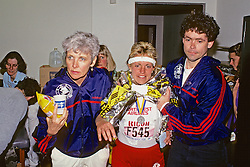 Massage Therapy, Boston Marathon 1989