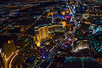 Las Vegas Strip Curvature