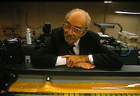 Joseph Franken-portrait at printing plant-1987