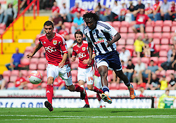 West Bromwich Albion's Somen Tchoyi  - Photo mandatory by-line: Joseph Meredith / JMPUK - 30/07/2011 - SPORT - FOOTBALL - Championship - Bristol City v West Bromwich Albion - Ashton Gate Stadium, Bristol, England