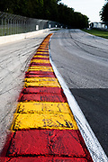 August 7, 2020: Road America Curb detail.