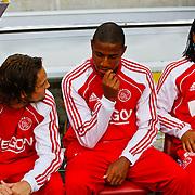 NLD/Amsterdam/20100731 - Wedstrijd om de JC schaal 2010 tussen Ajax - FC Twente, Urby Emanuelson, Marvin Zeegelaar