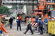GHENT, BELGIUM - 23/05/2008 - CORPORATE, People & Molecules, Construction of a new production area, plant shutdown  ©Christophe Vander Eecken