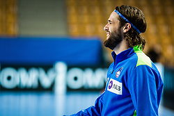 Dean Bombac of Slovenia during Men's EHF EURO 2022 Qualifiers between national teams Slovenia and Netherlands in Arena Zlatorog, Celje, Slovenia on 10. January, 2021. Photo by Grega Valancic