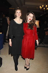 Left to right, CALLIE MOORE and LILY LEWIS at a dinner to promote the Holders Season in Barbados held at The Four Seasons Hotel, Hamilton Place, London W1 on 30th January 2008.<br /> <br /> NON EXCLUSIVE - WORLD RIGHTS (EMBARGOED FOR PUBLICATION IN UK MAGAZINES UNTIL 1 MONTH AFTER CREATE DATE AND TIME) www.donfeatures.com  +44 (0) 7092 235465