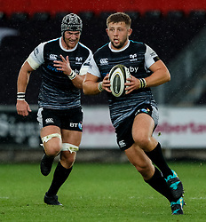 Scott Otten of Ospreys<br /> <br /> Photographer Simon King/Replay Images<br /> <br /> Guinness PRO14 Round 2 - Ospreys v Cheetahs - Saturday 8th September 2018 - Liberty Stadium - Swansea<br /> <br /> World Copyright © Replay Images . All rights reserved. info@replayimages.co.uk - http://replayimages.co.uk
