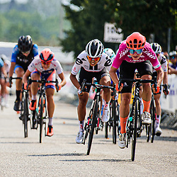 VOS Marianne ( NED ) – CCC - Liv ( CCC ) - NED – Querformat - quer - horizontal - Landscape - Event/Veranstaltung: Giro Rosa Iccrea - 6. Stage - Category/Kategorie: Cycling - Road Cycling - Cycling Tour - Elite Women - Location/Ort: Europe – Italy - Start: Torre del Greco - Finish: Nola - Discipline: Cycling - Road Cycling - Cycling Tour - Road Race ( RR ) - Distance: 97,5 km - Date/Datum: 16.09.2020 – Wednesday - Photographer: © Arne Mill - frontalvision.com
